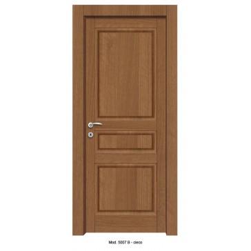 Porta Listellare rivestita in Laminato con Pannelli Bugnati Modello 5007B - Cieco