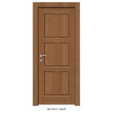 Porta Listellare rivestita in Laminato  Modello 5018B - 3 Pannelli