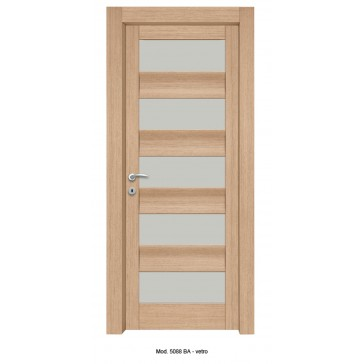 Porta Listellare rivestita in Laminato Con Profilo Sagomato