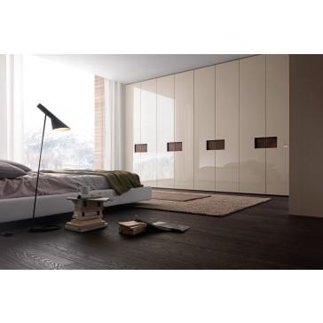armadio moderno laccato lucido