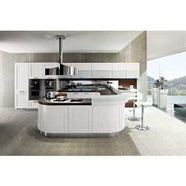 Cucina moderna con penisola centrale in vendita a roma - Arredamenti moderni cucine ...