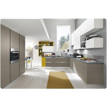 Cucina moderna opaca su misura in vendita a roma - Cucina laccata opaca ...