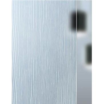Vetro texturizzato Masiglass Modello Wengé