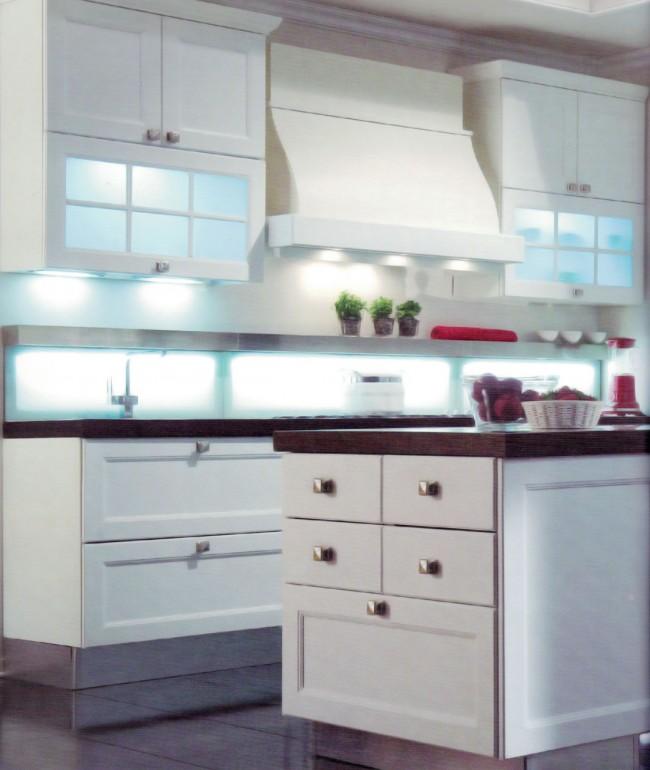 Cucina Effe2 Serie Aura Bianca, Vendita di Cucine Laccate a Roma