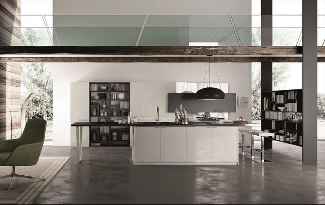 cucina axis officina progetto 2 cucine moderne in vendita a roma. Black Bedroom Furniture Sets. Home Design Ideas