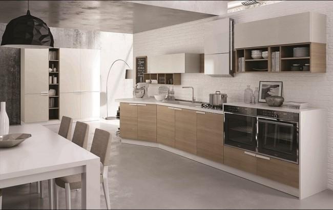 cucina axis officina progetto 6 cucine moderne in vendita a roma. Black Bedroom Furniture Sets. Home Design Ideas