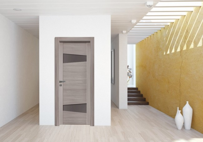 Nusco serie Vision, Porta da Interno moderna con vetri, in Vendita ...