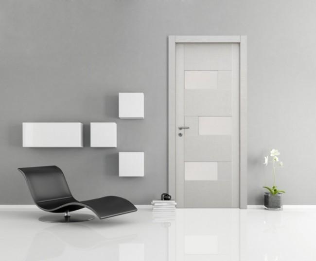 Nusco serie Vision, Porta da Interno moderna con vetri, in Vendita a ...