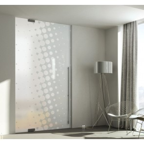 Porta Battente Serie Glass
