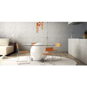 Tavolo per interno casa in cemento unito Staino